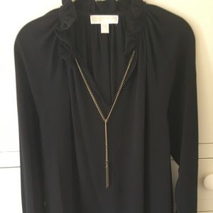 Chain detail blouse